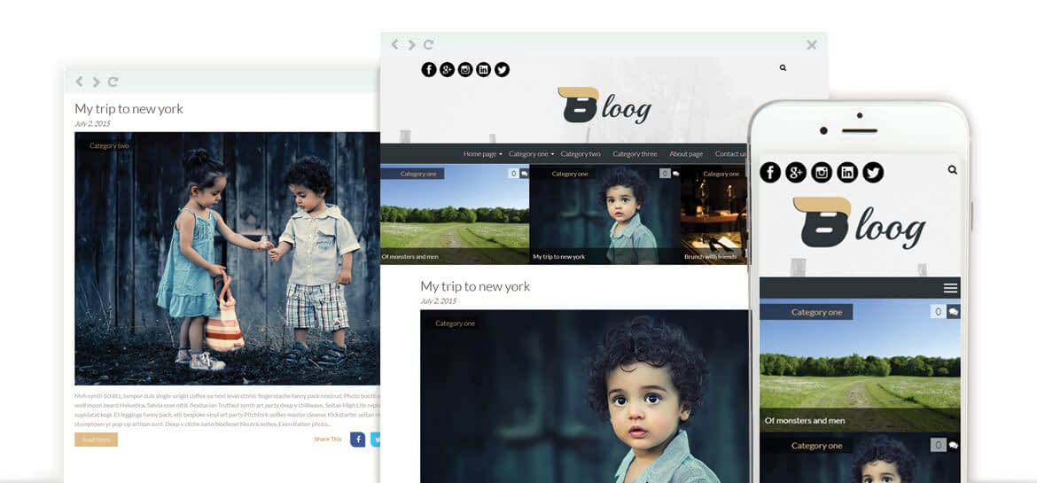 Bloog Lite – Free WordPress Blog Journal Theme