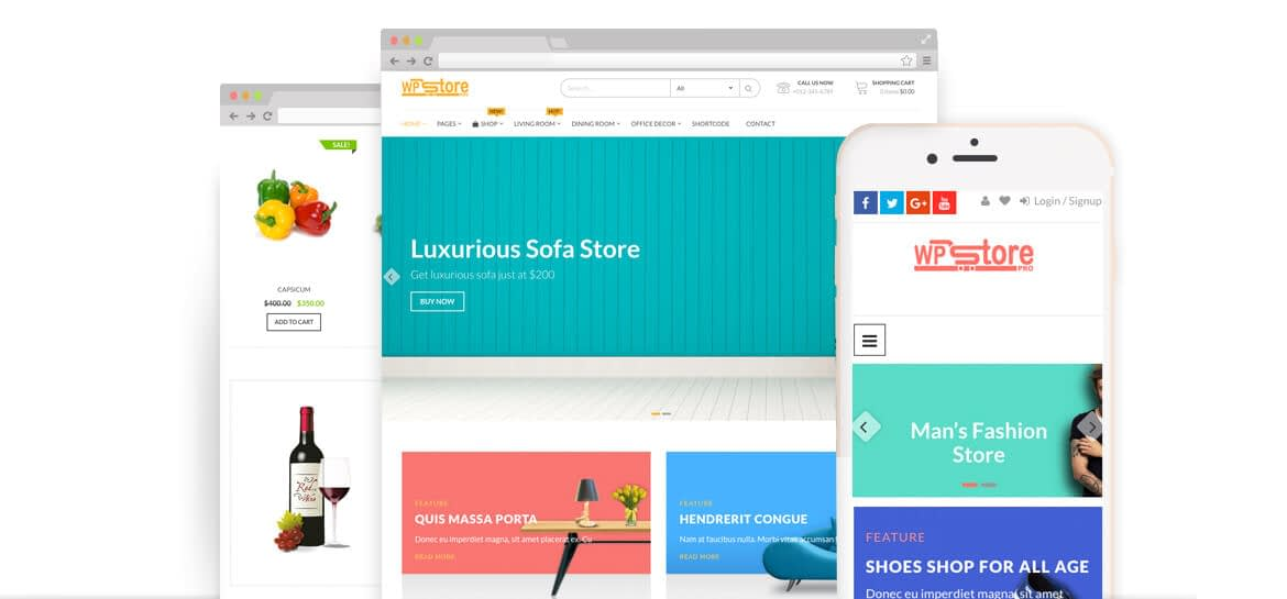 WP Store Pro – Best Premium WooCommerce Store WordPress Theme