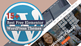 Free Elementor WordPress Themes