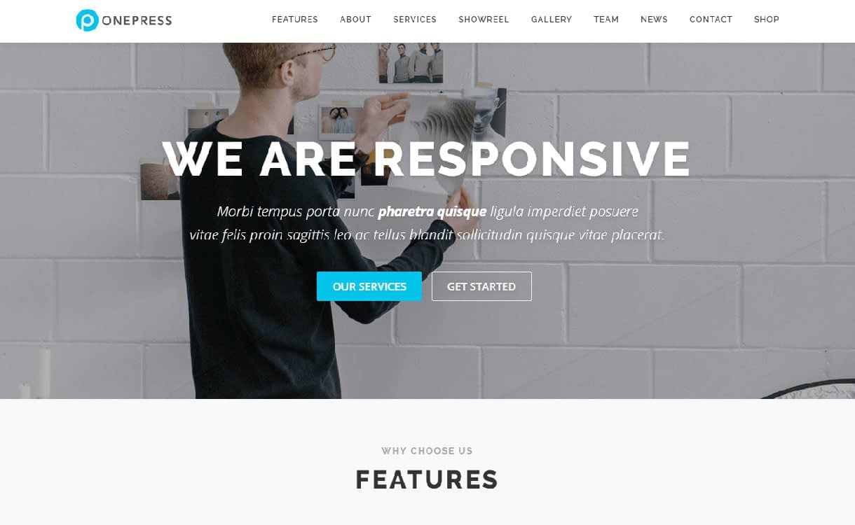 onepress-best-free-responsive-wordpress-theme
