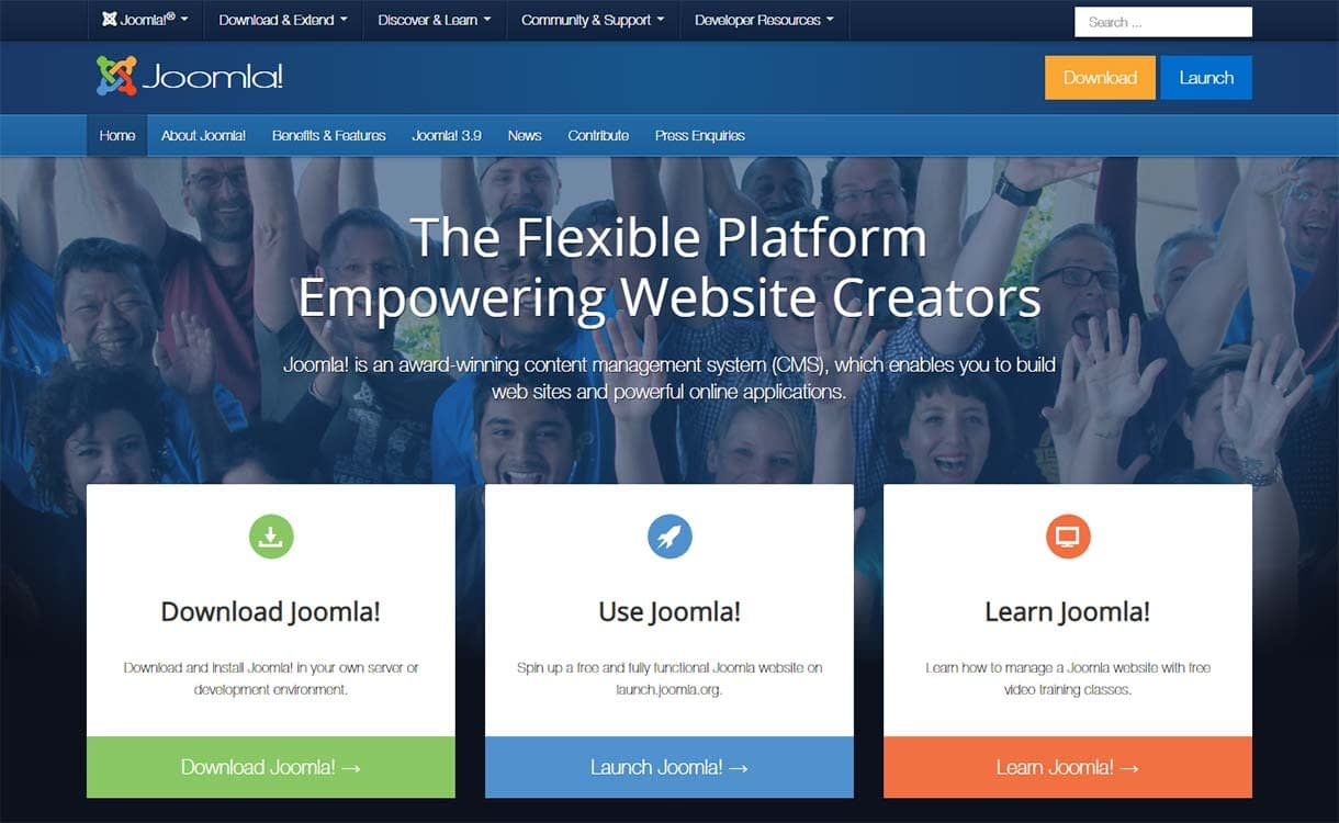 joomla-blogging-site