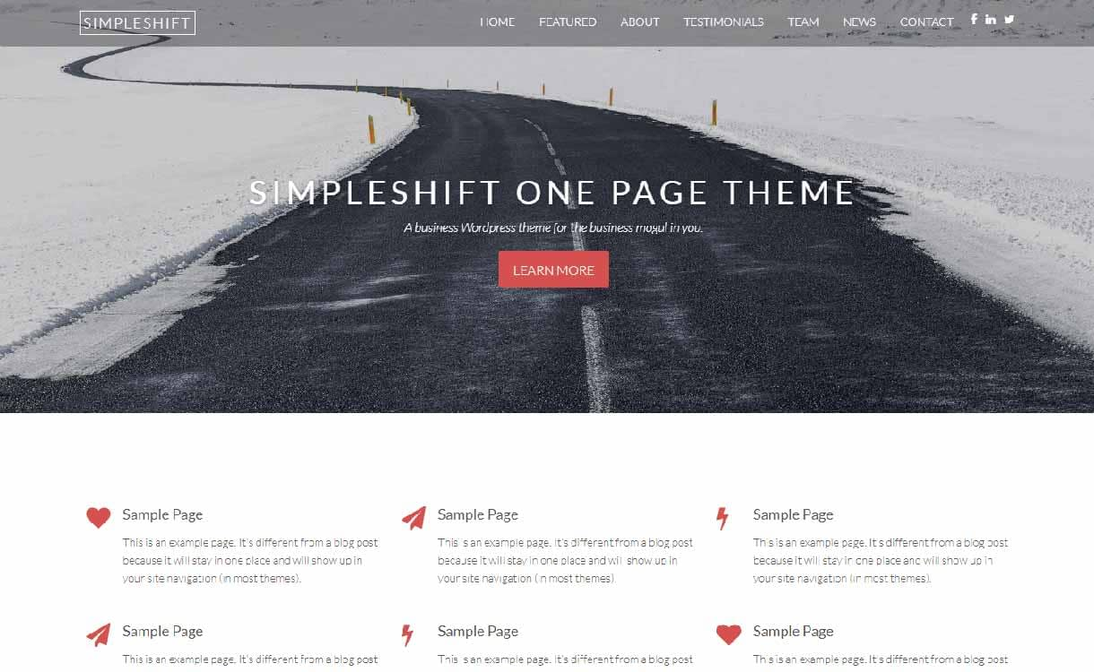 simpleshift-best-free-responsive-wordpress-theme
