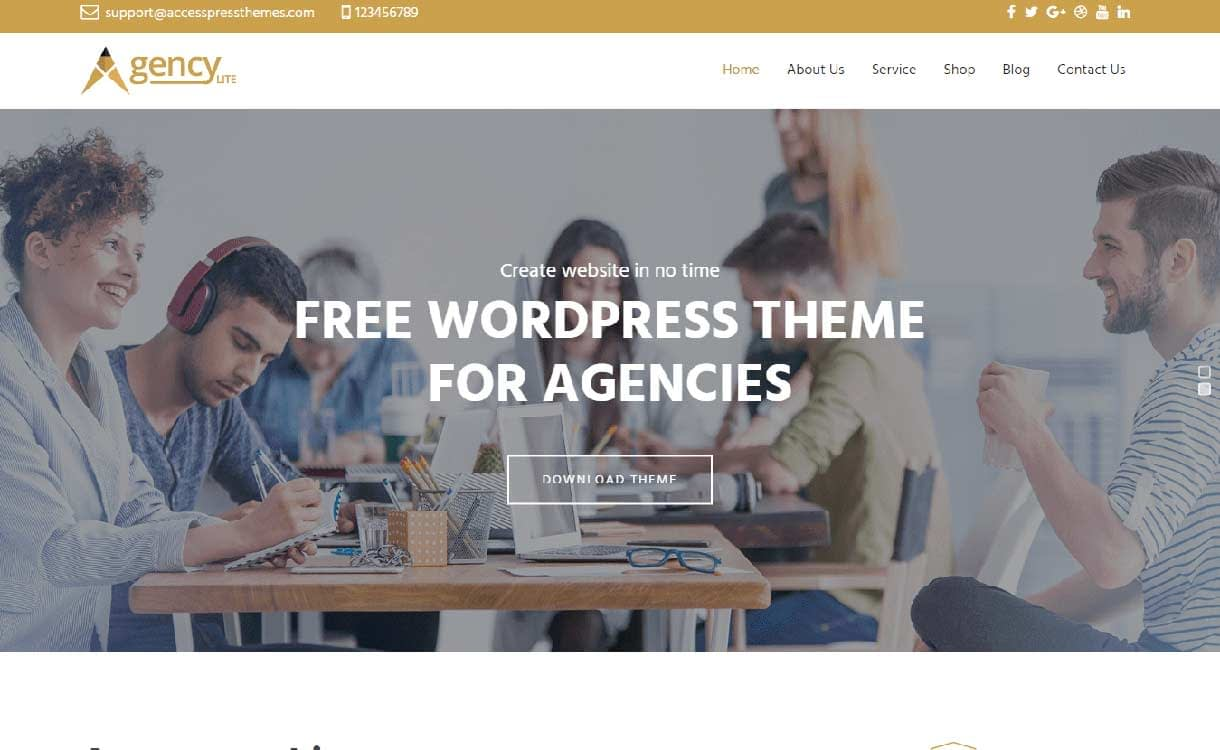 agency-lite-best-free-responsive-wordpress-theme