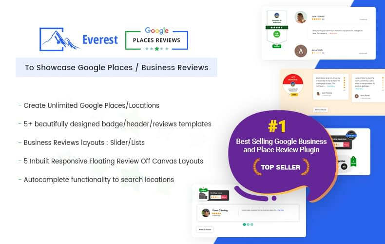 Best WordPress Plugin to Showcase Google Places/ Business Reviews