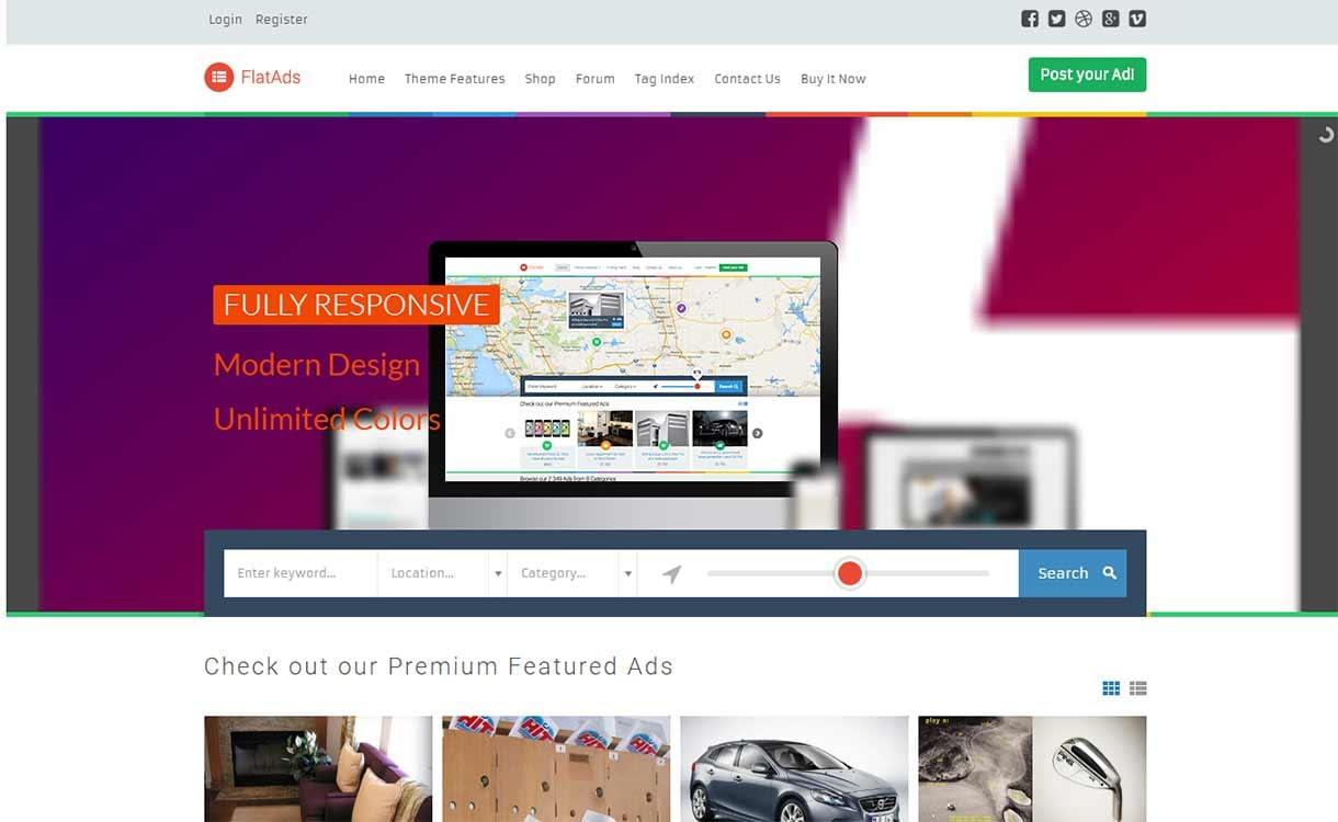 flatads-best-premium-classified-wordpress-theme