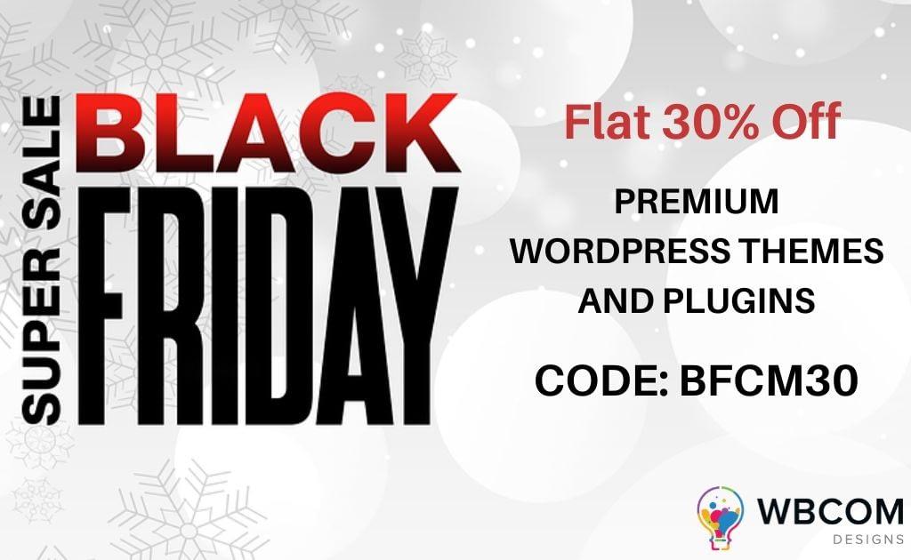 black-friday-sale-wbcom-designs