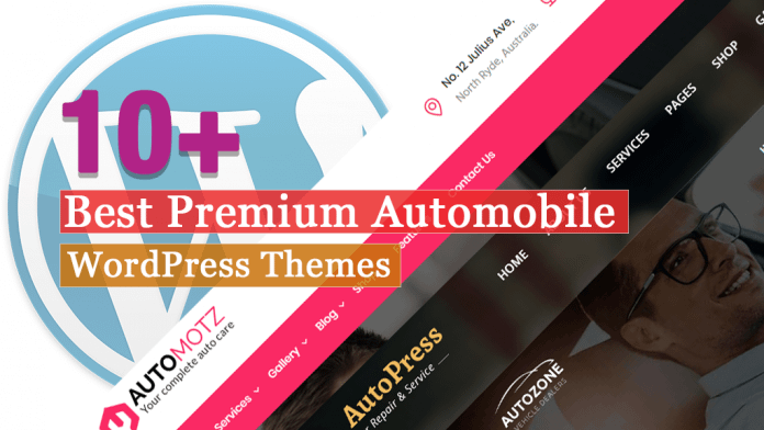 Best Premium Automobile WordPress Themes