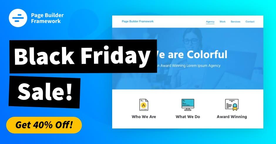 page-builder-framework-black-friday-deals