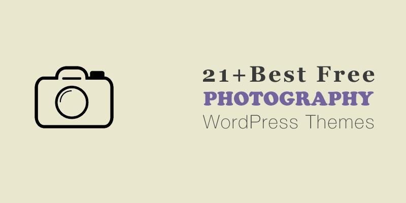 Best Free Photography WordPress Themes