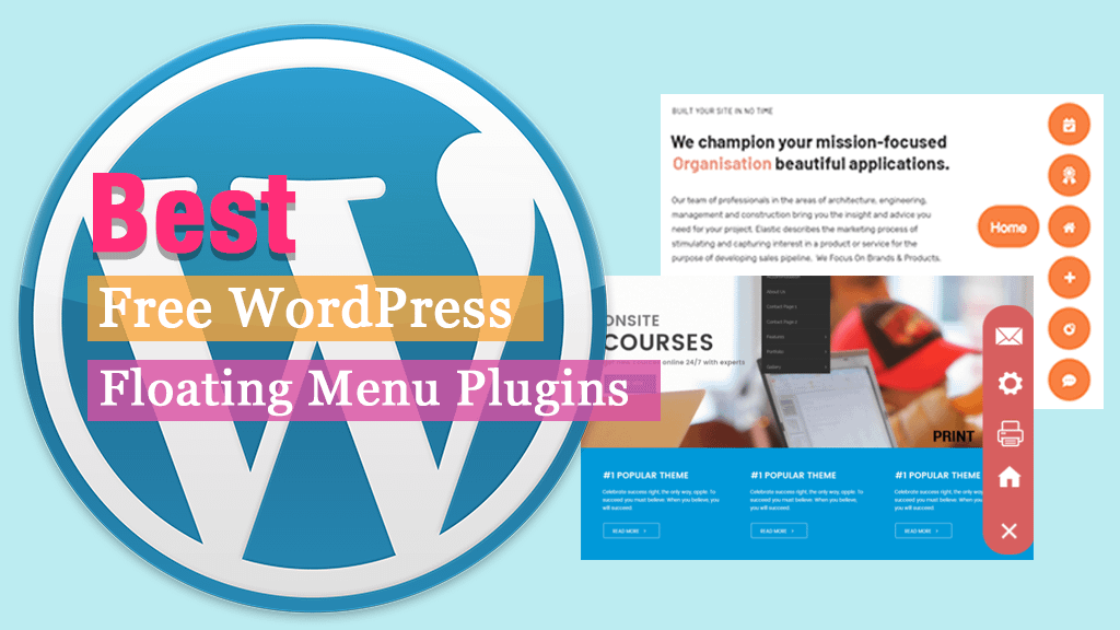 Free WordPress Floating Menu Plugins