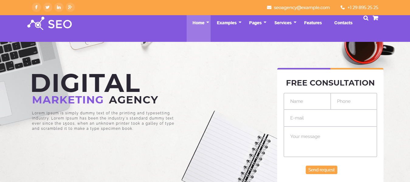 The SEO - Best Marketing Agency WordPress Theme