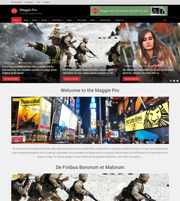Maggie Pro - Premium WordPress Magazine & Newspaper Theme