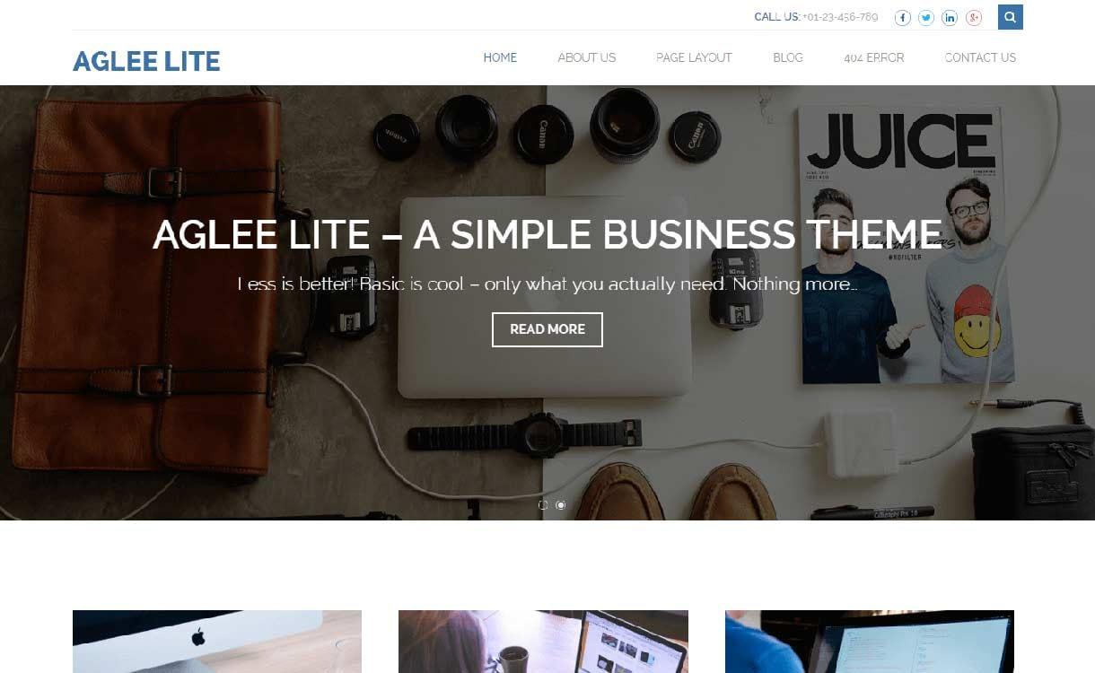 aglee-lite-best-free-responsive-wordpress-theme