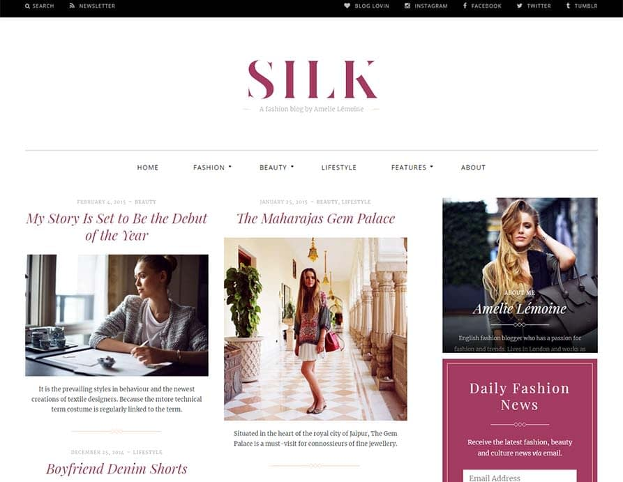 Silk-fashion-blog-theme