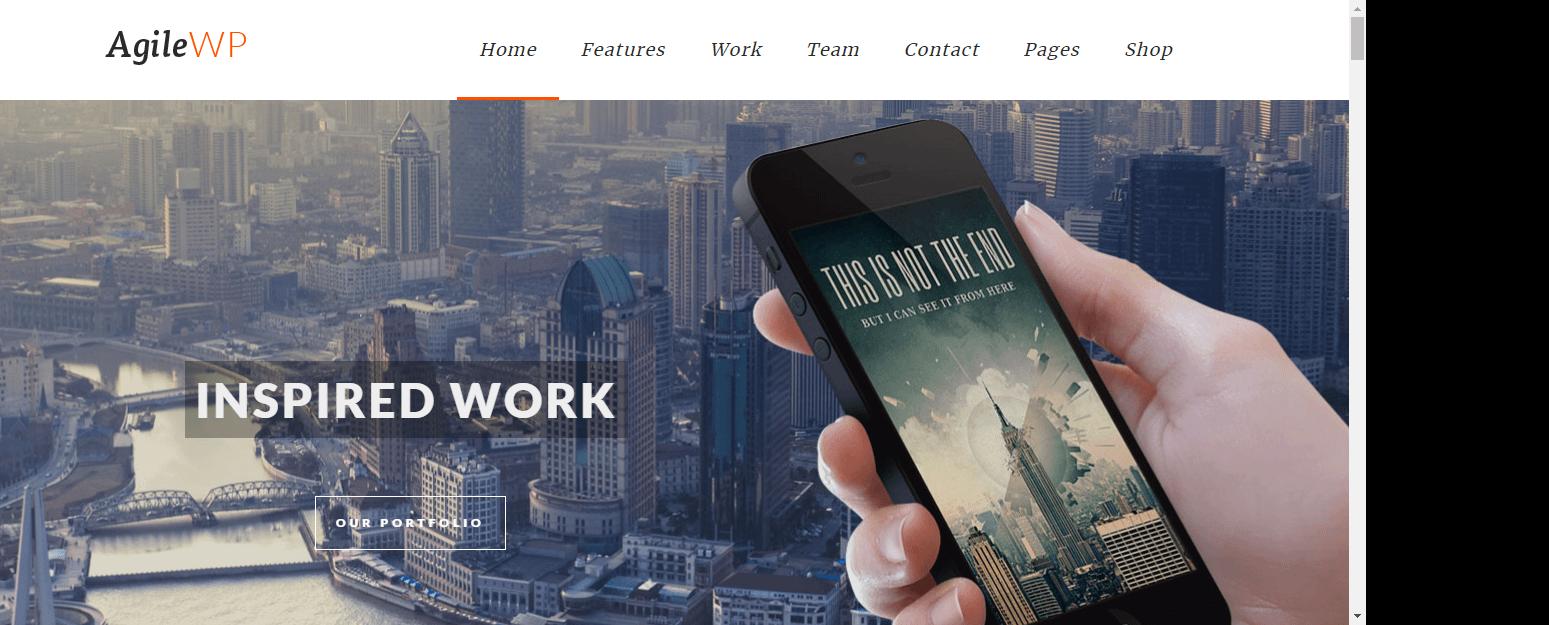 Agile - Best Software Company WordPress Theme
