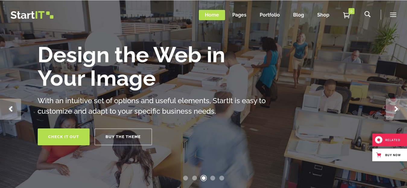 Startit – Best WordPress Startup Theme