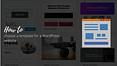 Choose A Template For A WordPress Website
