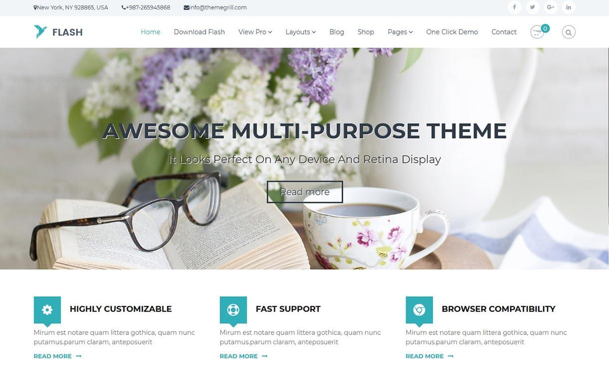 flash-best-free-agency-wordpress-theme