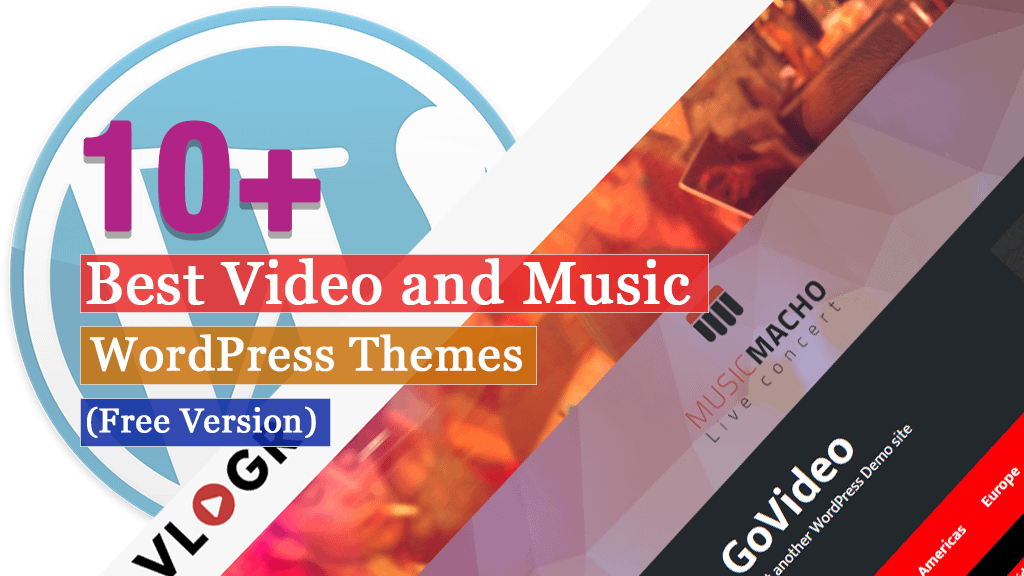 10+ Best Free Video and Music WordPress Themes