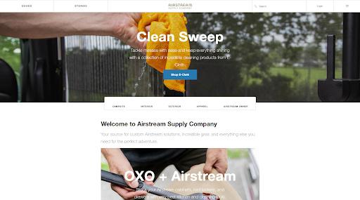 Airstream - Best eCommerce WordPress website