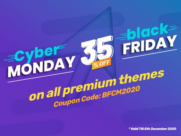 AccessPress Themes black friday cyber monday sales