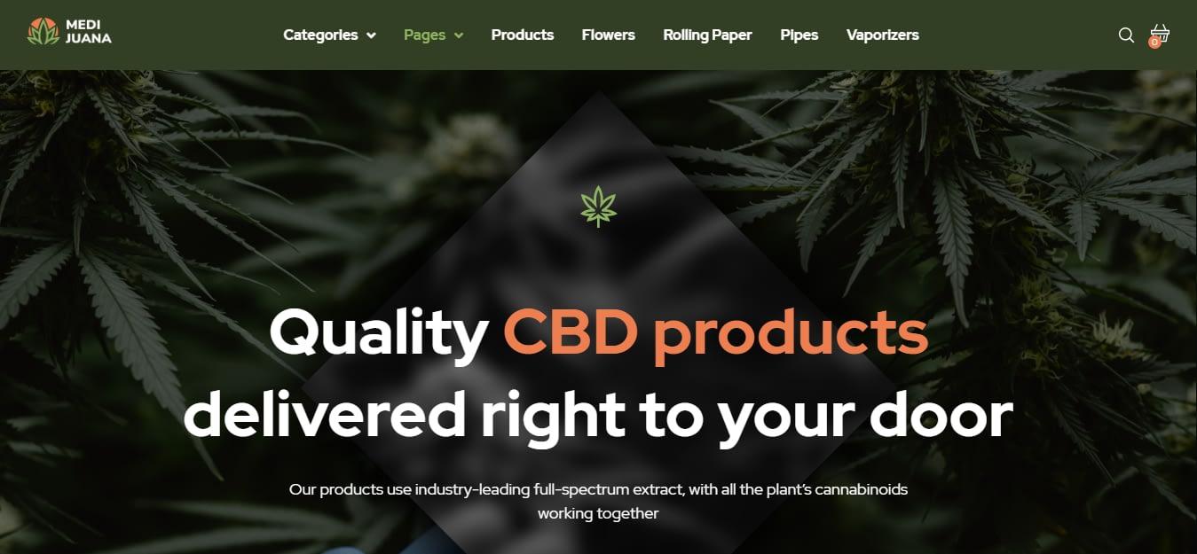 Medijuana - Best Medical WordPress Theme