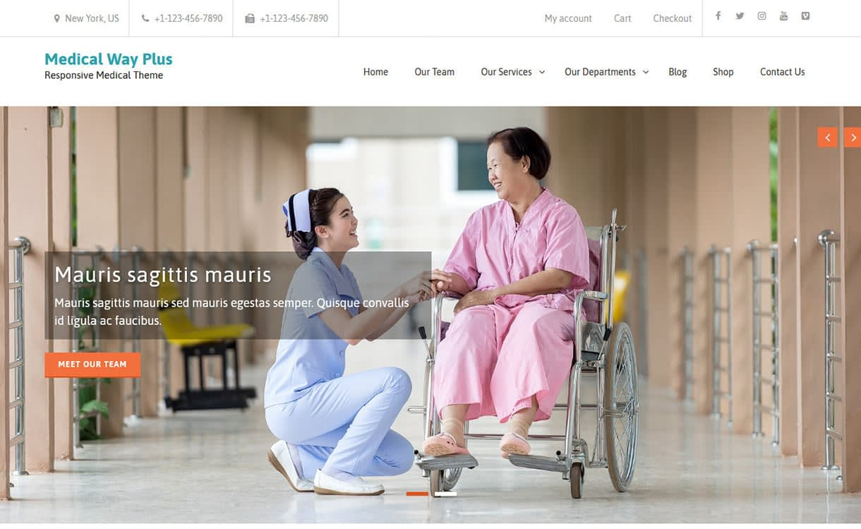 Medical Way WordPress Theme