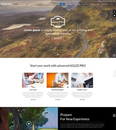 Aglee Pro - Best Premium Responsive Business WordPress Theme