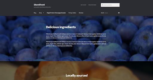 StoreFront - Best eCommerce WordPress Theme