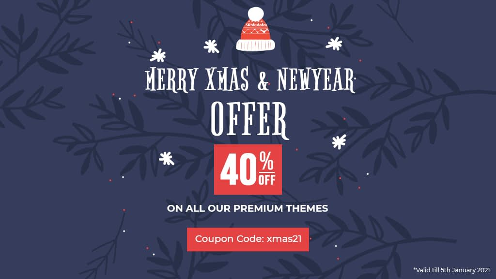 Christmas and new year offer 2021