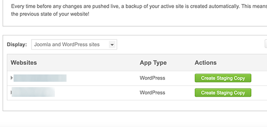 Create Staging Site on WordPress using SiteGround