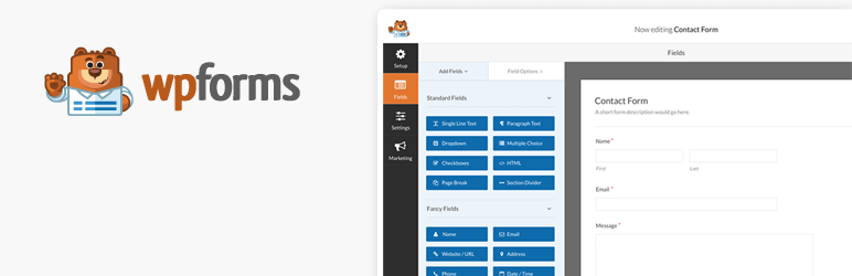 Best WordPress Survey Plugin - WPForms