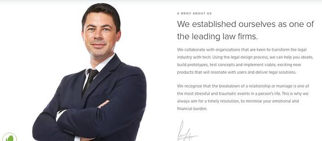 WordPress law themes exponent