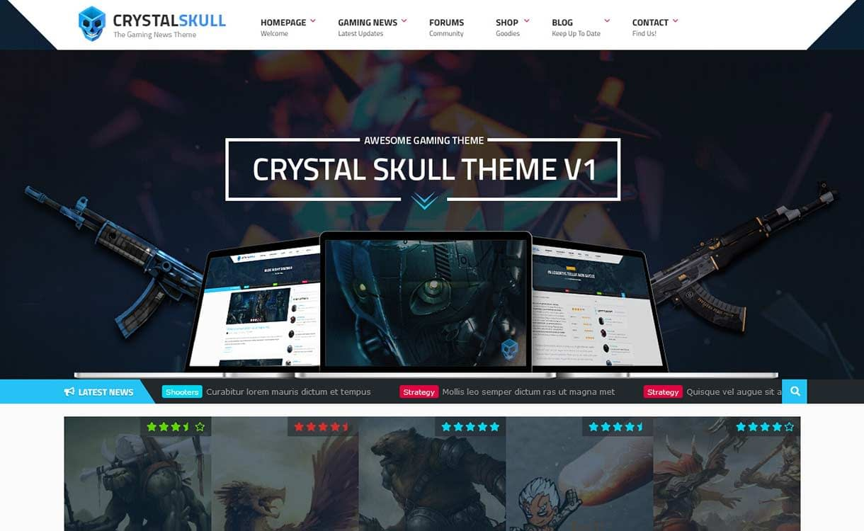 crystalskull-best-premium-gaming-wordpress-theme
