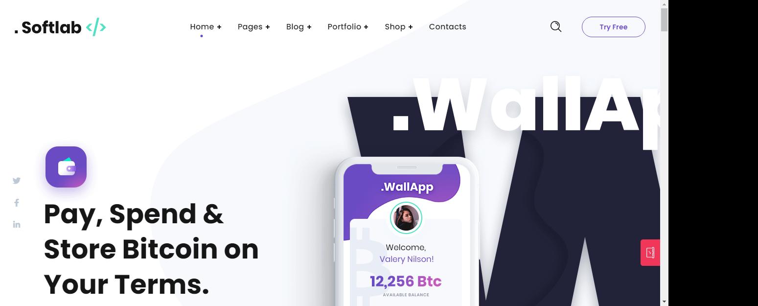 Softlab – Best WordPress Startup Theme