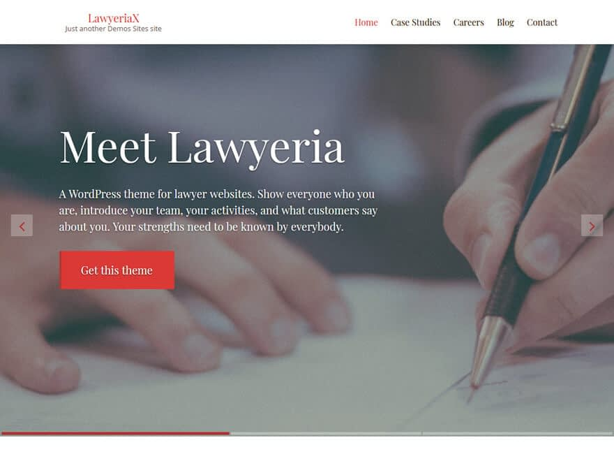 LawyeriaX Lite-Free Lawyer WordPress Theme