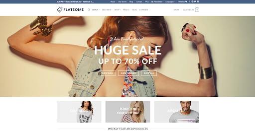 Flatsome - Best eCommerce WordPress Theme