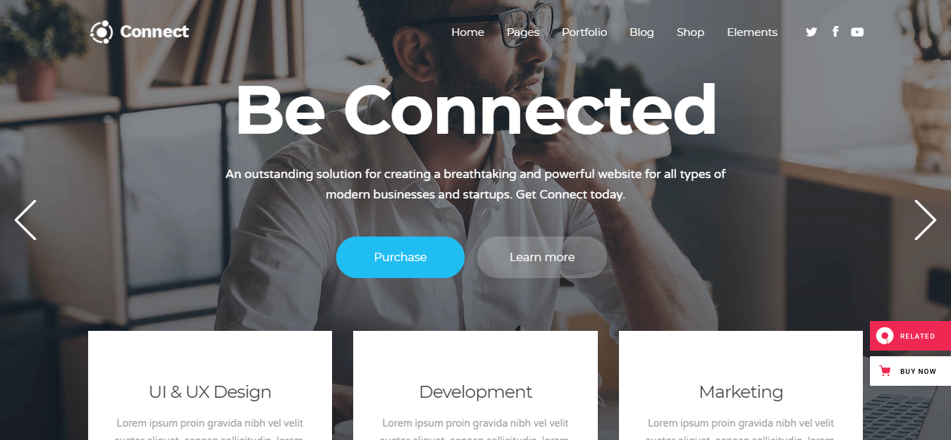 Connect - Best Software Company WordPress Theme