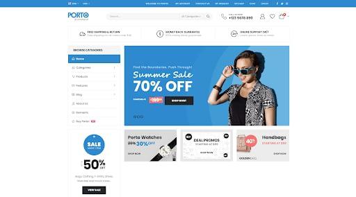 Porto - Best eCommerce WordPress Theme
