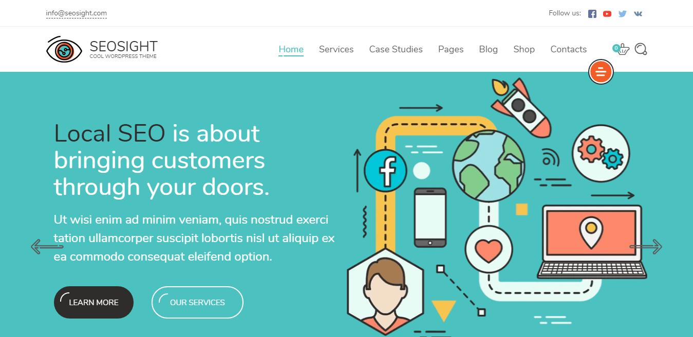 Seosight – Best Marketing Agency WordPress Theme
