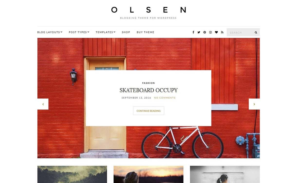olsen-best-premium-wordpress-blog-themes