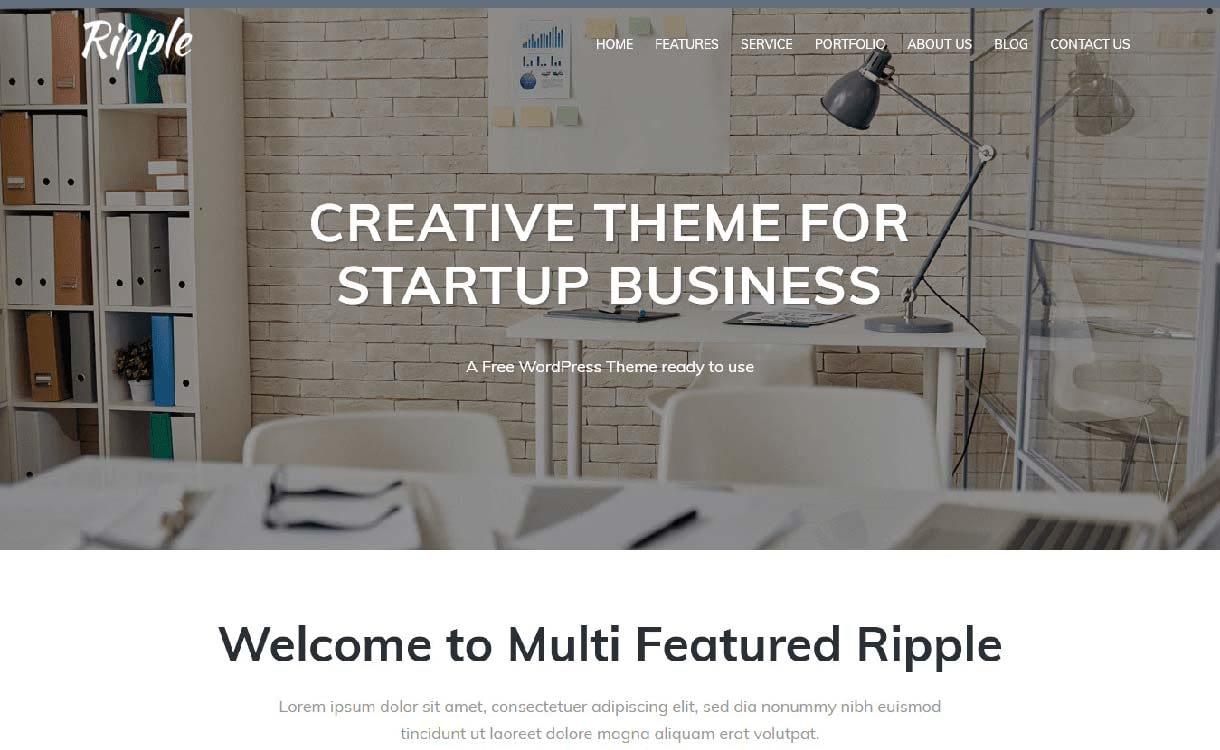 riple-best-free-agency-wordpress-themes