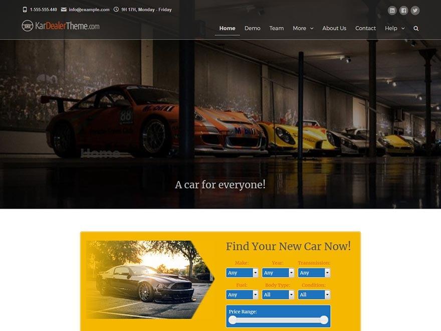 kardealer-best-free-automobile-wordpress-theme