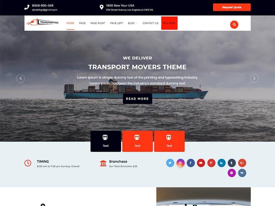transport-movers-best-free-automobile-wordpress-theme