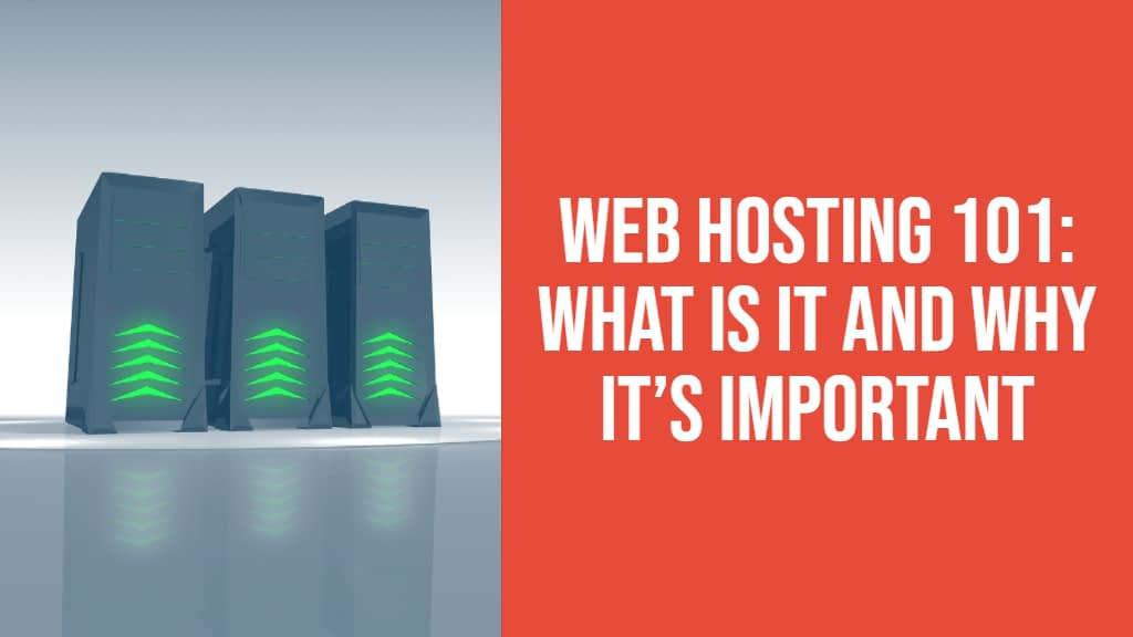 Web Hosting 101: What Is It and Why It's Important