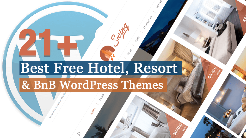 Best Free Hotel Resort and BnB WordPress Themes