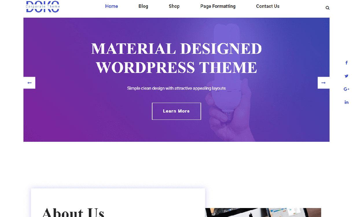 doko-best-free-responsive-wordpress-themes