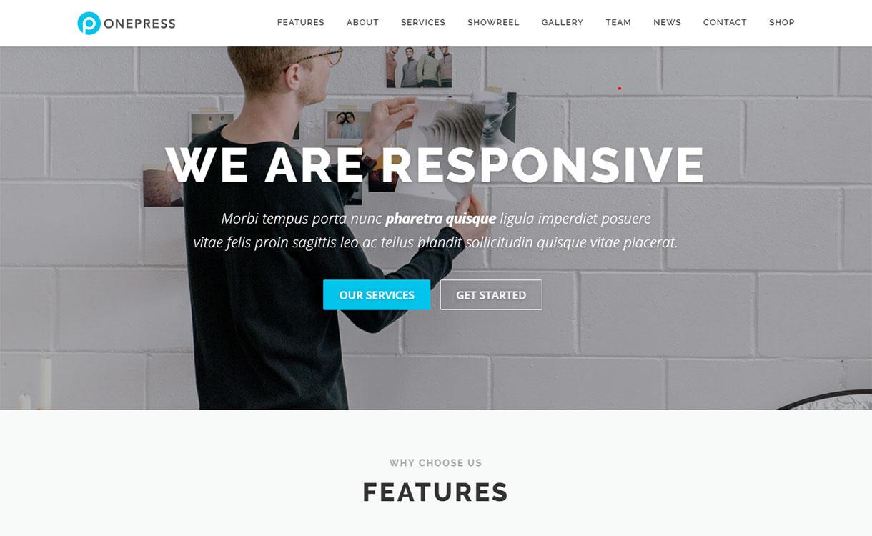 onepress-best-free-agency-wordpress-theme