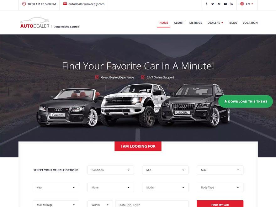 carlistings-best-free-automobile-wordpress-theme