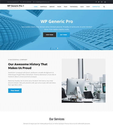 WP Generic Pro - Best Multipurpose WordPress Premium Theme